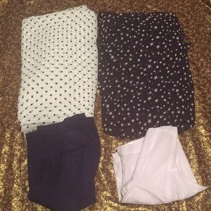 Other - 4-piece BOGO two NWOT saris & 2 blouses